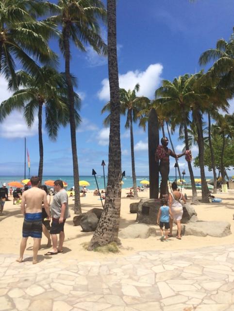 ハワイの景色.JPG